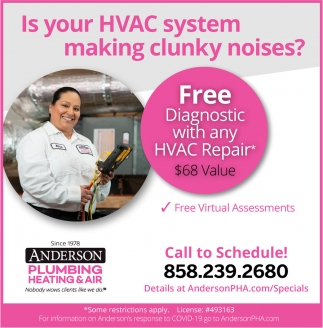 Is Your HVAC System Making Clunky Noises?