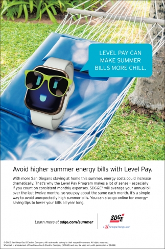 Level Pay Can Make Summer Bilss More Chill