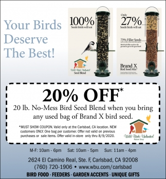 Your Birds Deseve The Best!