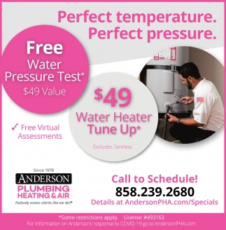 Water Heater Tune Up