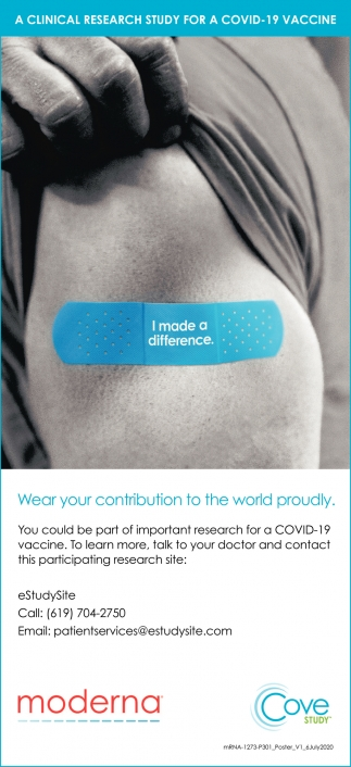 Clinical Research Study For a COVID-19 Vaccine