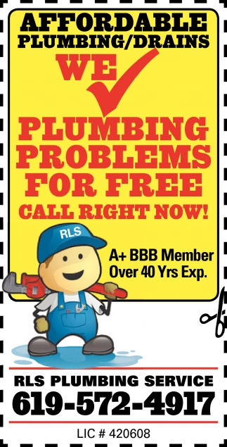 We Check Plumbing Problems For Free