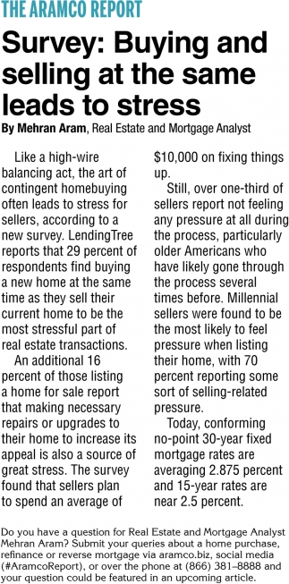 Survey: Buying and Selling At The Same Leads To Stress