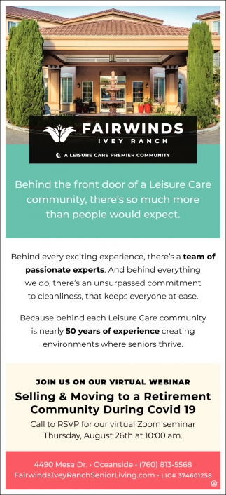 A Leisure Care Premier Community