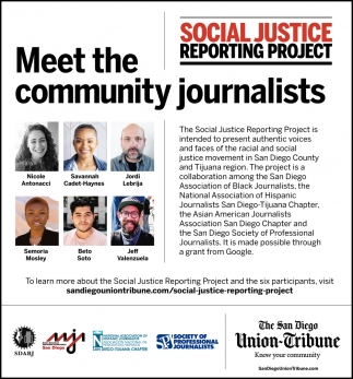 Social Justice Reporting Project