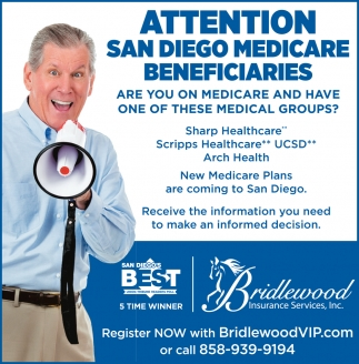 Attention San Diego Medicare Beneficiaries