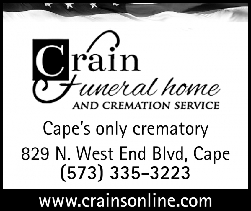 Cape's Only Crematory