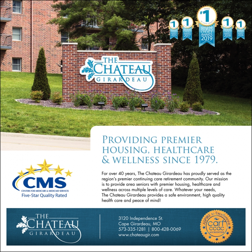 Providing Premier Housing, Healthcare & Wellness Since 1979