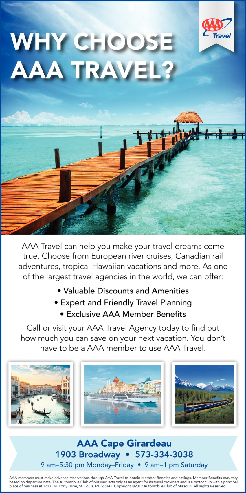 Why Choose AAA Travel?