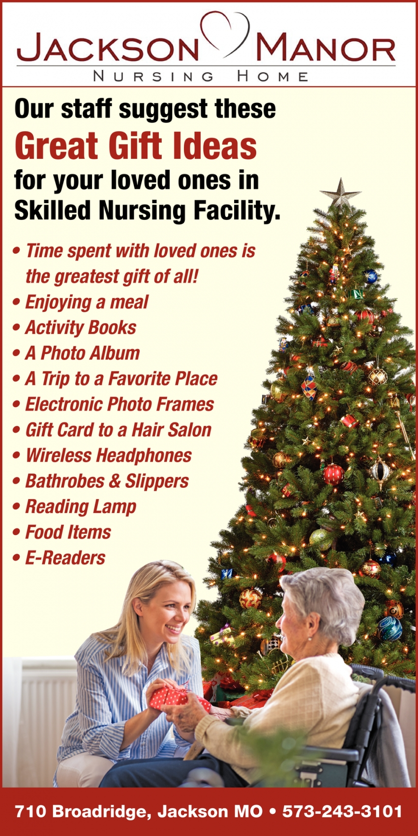 Our Staff Suggest These Great Gift Ideas for Your Loved Ones in Skilled Nursing Facility