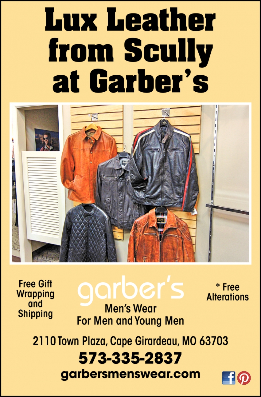 Lux Leather from Scully at Garber's