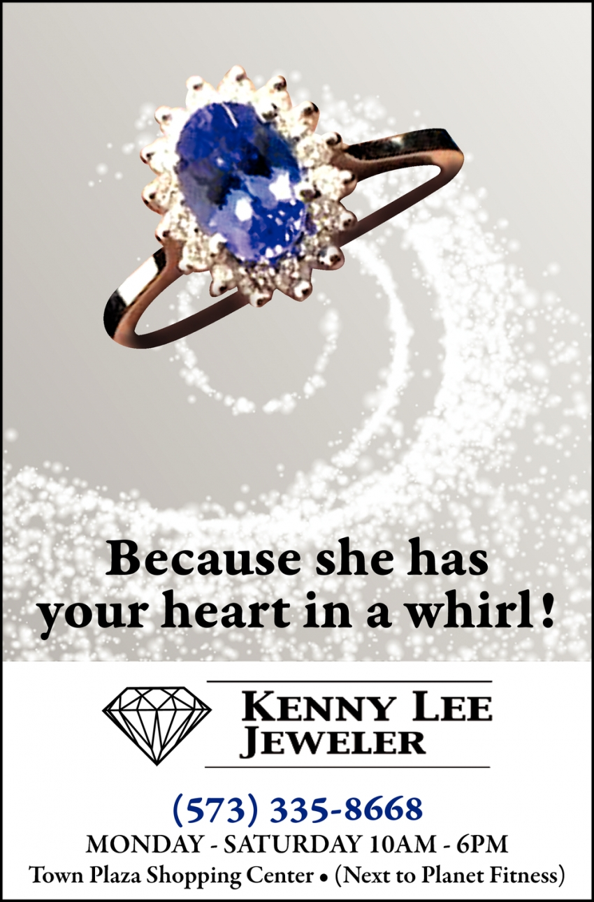 Because She Has Your Heart in a Whirl!