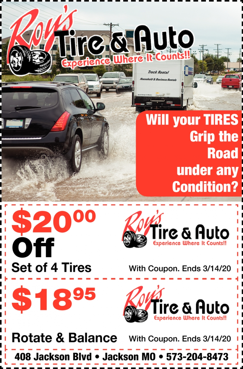 Will Your Tires Grip the Road Under Any Condition?