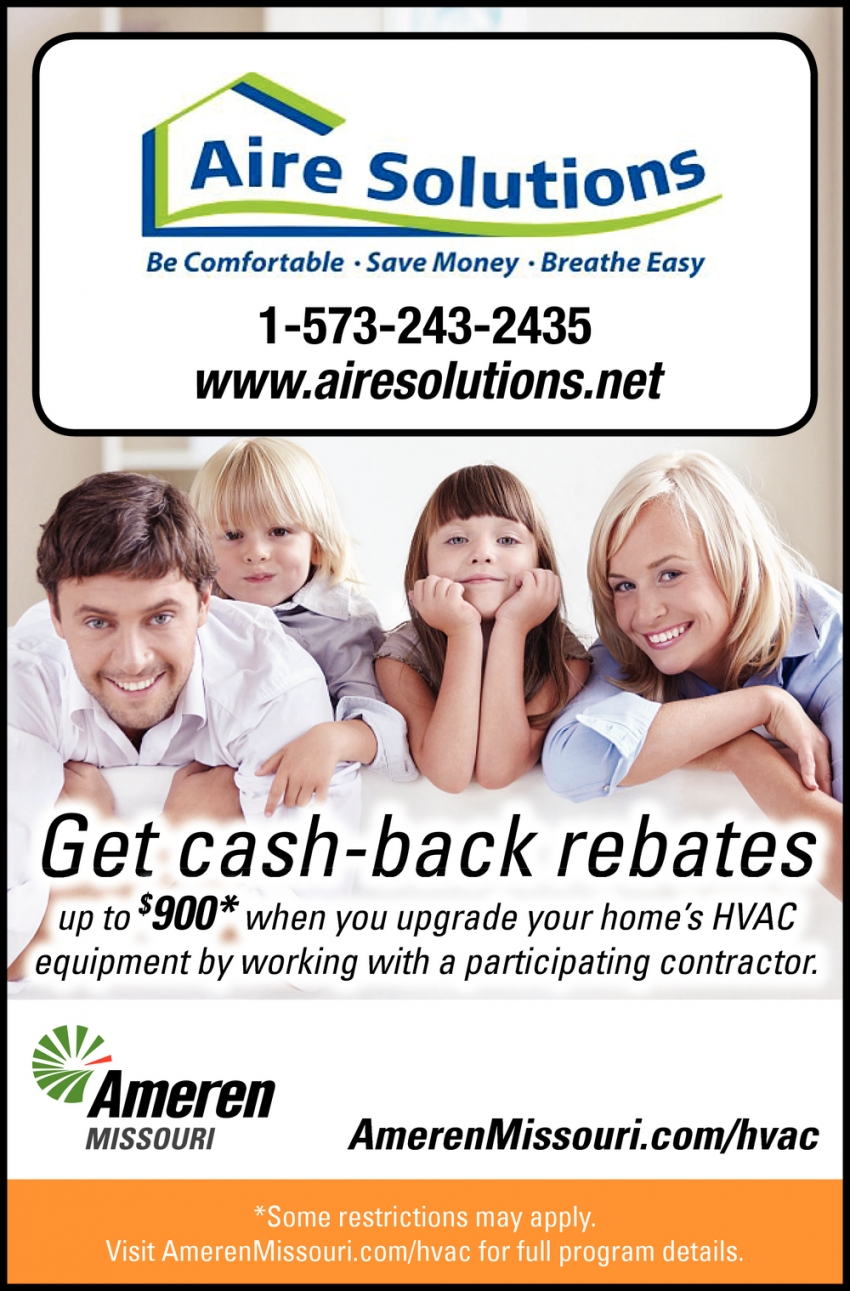 Get Cash-Back Rebates