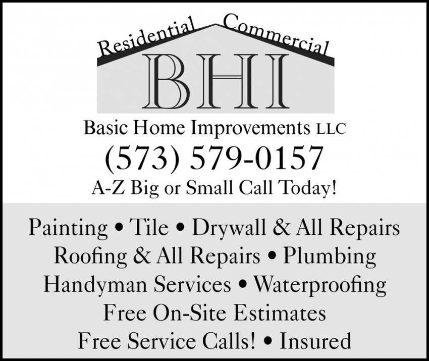 Drywall & All Repairs