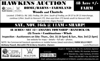 Hawkins Auction