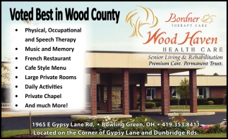 Voted Best in Wood County