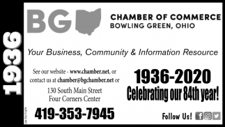 1936-2020 Celebrating our 84th year!