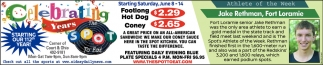 Footlong Hot Dog $2.29