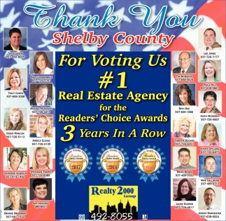 Thank You For Voting Us #1 Real Estate Agency