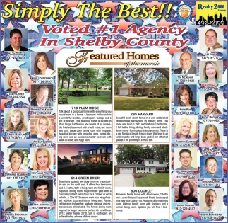 Simply The Best! Voted #1 Agency in Shelby County