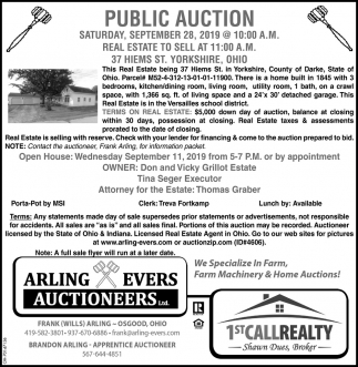 Public Auction - September 28