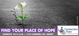 Find your place to of hope