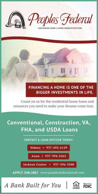 Financing a home is one of the bigger investments in life