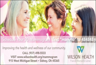 Schedule your 3D Mammography