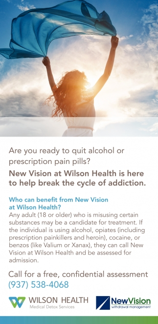 Are you ready to quit alcohol or prescription pain pills?
