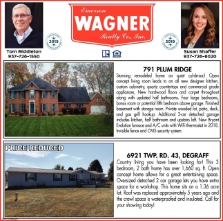 791 Plum Ridge | 6921 Twp. Rd. 43, Degraff