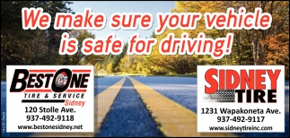 We make sure your vehicle is safe for driving!