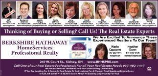 Thinking of Buying or Selling? Call Us! The Real Estate Experts