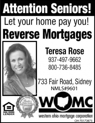 Let your home pay you! Reverse Mortgages