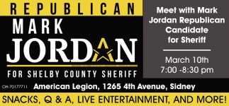 Meer with Mark Jordan Republican Candidate for Shelby County Sheriff