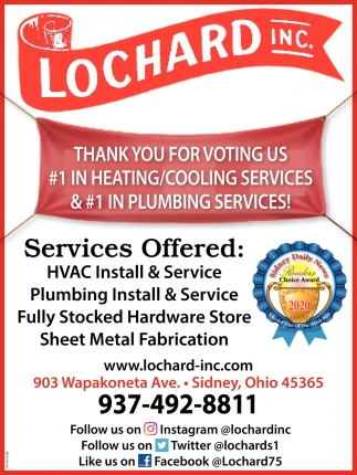 #1 in Heating/Cooling Services