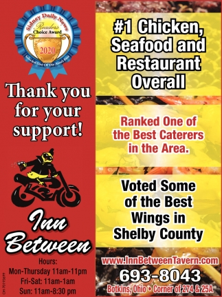 #1 Chicken, Seafood and Restaurant Overall