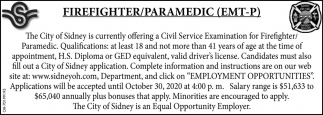 Firefighter/Paramedic