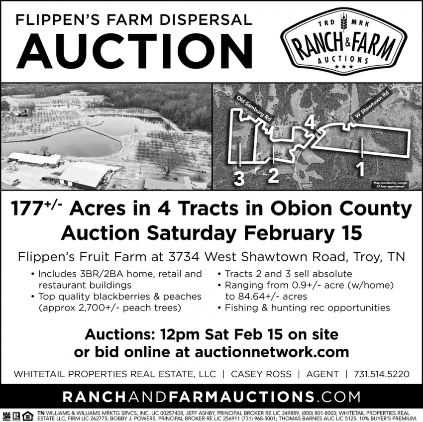 Flippen's Farm Dispersal Auction