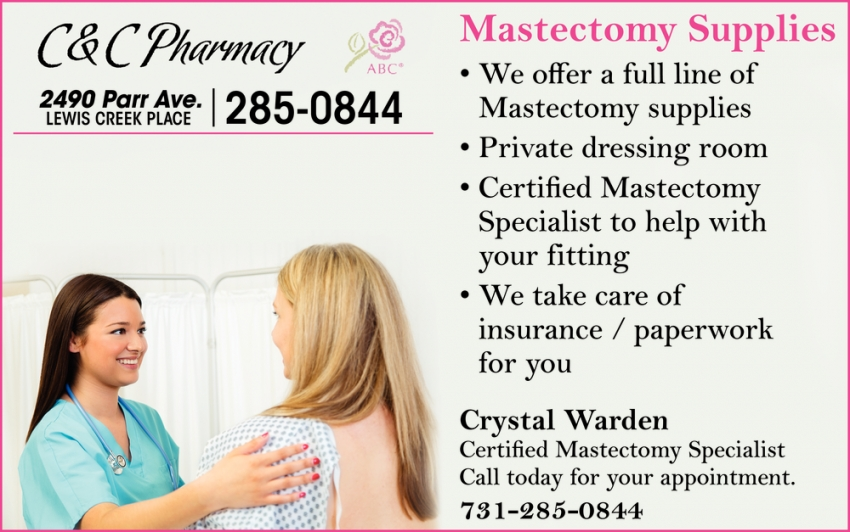 Mastectomy Supplies