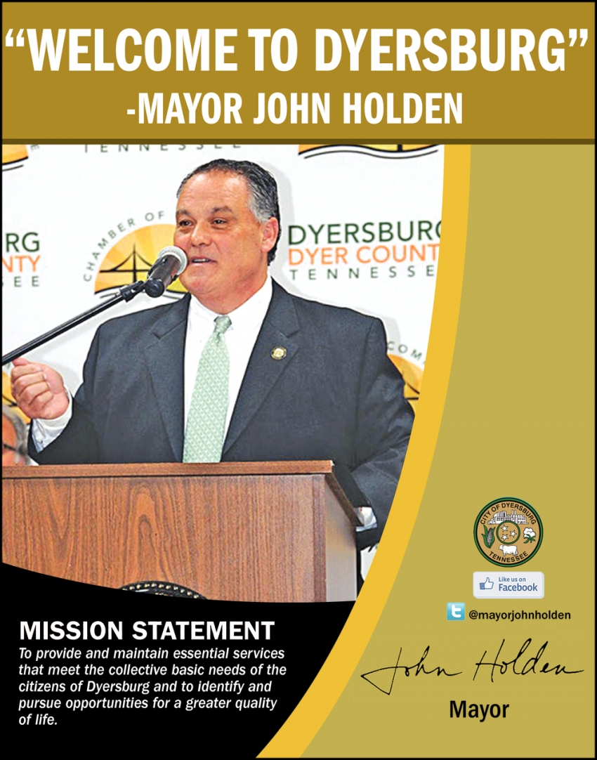 Mayor John Holden