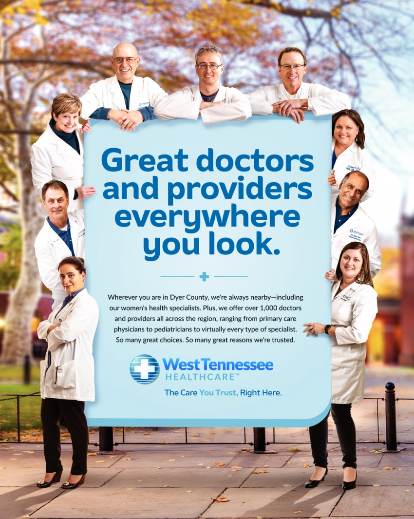 Great Doctors and Providers Everywhere You Look