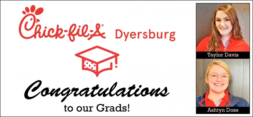 Congratulations to Our Grads!