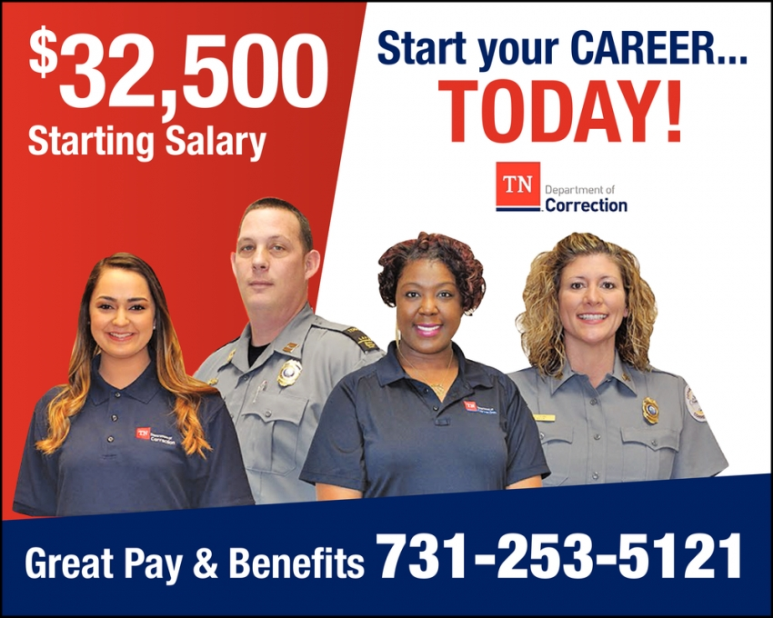 Start Your Career... Today!