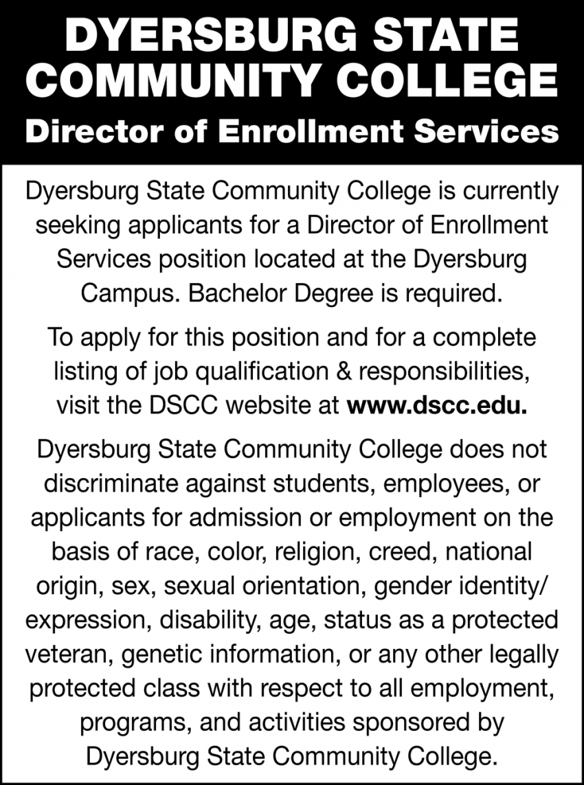 Director of Enrollment Services