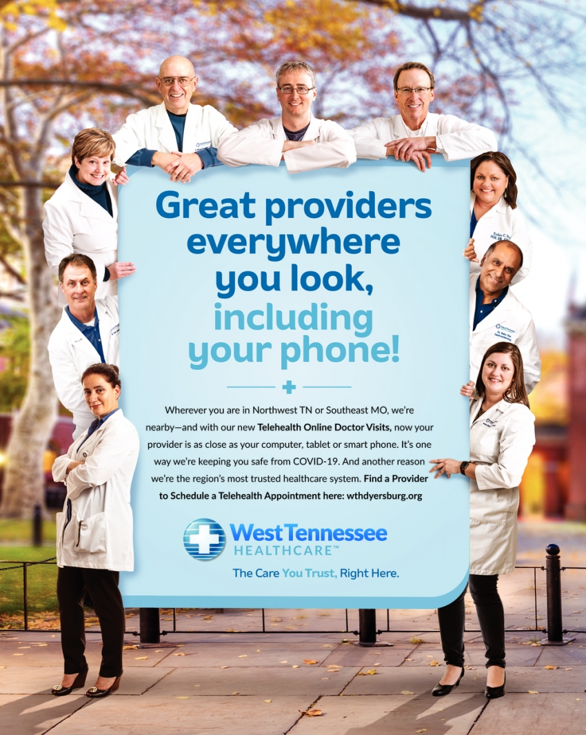 Great Providers Everywhere You Look, Including Your Phone!