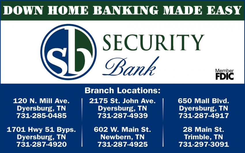 Down Home Banking Made Easy
