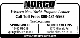 Western New York's Propane Leader