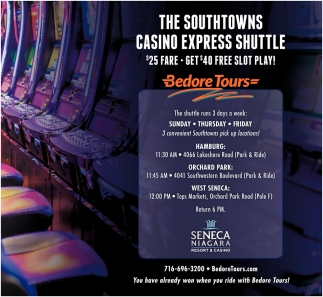 The Southtowns Casino Express Shuttle