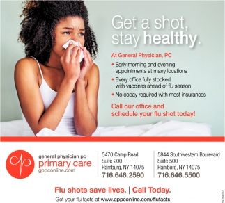 Get A Shot, Stay Healthy.